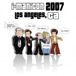 I-Manicon 2007 T-Shirt Design by Kristy Seddon